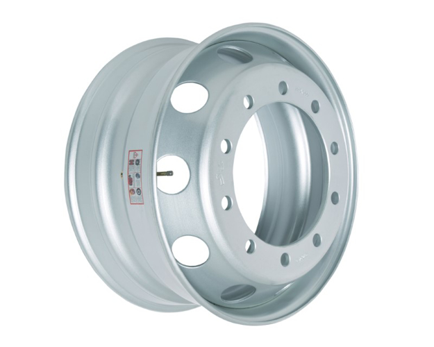 Picture of 8.25X22.5 STEEL RIM 32MM 8 HOLES TAPERED